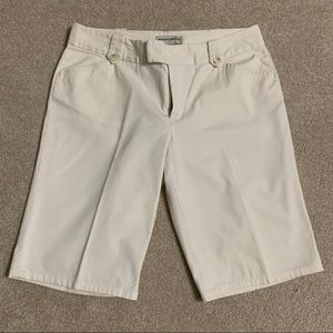 Ivory Banana Republic shorts